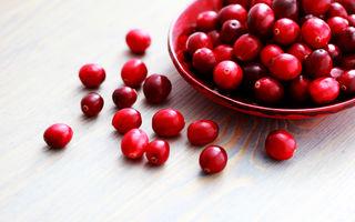 Merișoarele: 7 beneficii pentru sănătate