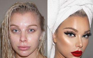 Puterea incredibilă a machiajului. 30 de imagini înainte și după