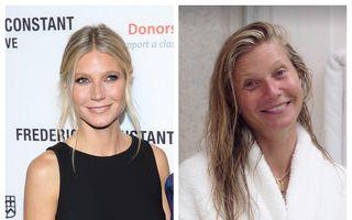 Gwyneth Paltrow își dă arama pe față: Vedeta renunță la machiaj, dar o face din interes