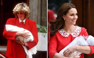 17 ținute purtate de Kate Middleton care amintesc perfect de Prințesa Diana