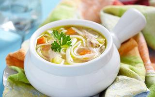 Supă de pui pentru imunitate scăzută - 5 ingrediente secrete