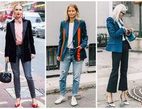 30 de idei ca să porți combinația clasică de sacou și blugi