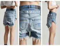 Doi în unu: Pantalonii scurți cu spate dublu, un nou trend bizar