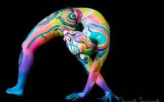 Cele mai frumoase opere de body-painting în 2018
