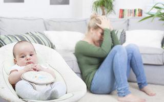 Depresia postpartum - Cum te pot ajuta informațiile online și cum te afectează