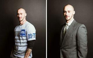 30 de bărbați cu probleme, înainte și după ce îmbracă un costum: Când a doua șansă este aur curat