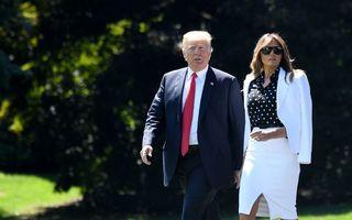 Melania Trump are o sosie? Imaginile care oferă noi indicii