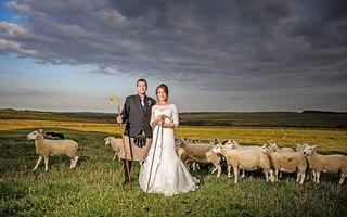 Dragoste la stână: Ultima ciobăniță necăsătorită din Anglia și-a găsit alesul