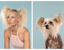 Cum e câinele și stăpânul: 14 imagini în care oamenii seamănă cu animalele lor
