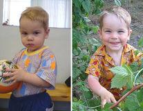 Înainte și după adopție: 15 imagini impresionante în care copiii renasc în alte familii