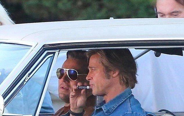 Brad Pitt și DiCaprio