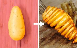 9 rețete delicioase cu cartofi pe care o să le adori - VIDEO