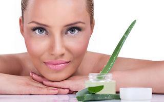 Tratamente cu Aloe vera pentru diferite tipuri de piele
