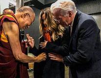Richard Gere va fi tată la 69 de ani: Starul și soția lui, binecuvântați de Dalai Lama