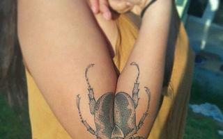 12 tatuaje geniale care se transformă când îți desfaci brațul
