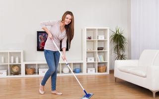 9 reguli care te ajută să faci curățenie mai rar