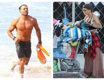 """Decăderea unui model: A fost căsătorită cu un star din """"Baywatch"""", iar acum trăiește pe stradă"""