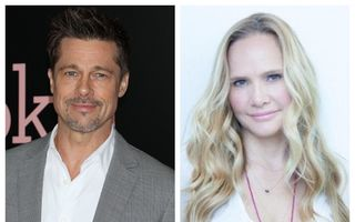 Cât mai stă singur Brad Pitt? O nouă femeie frumoasă în viața lui