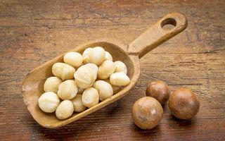 Nucile Macadamia – Beneficii pentru sănătate