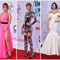 Ce ținute au purtat vedetele la Gala American Music Awards