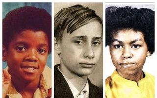12 imagini în care oamenii celebri sunt greu de recunoscut