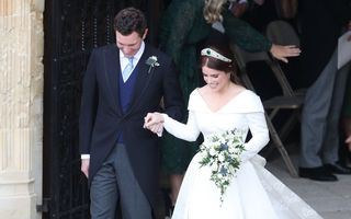 Foto. Ce ținute au purtat vedetele la nunta Prințesei Eugenie