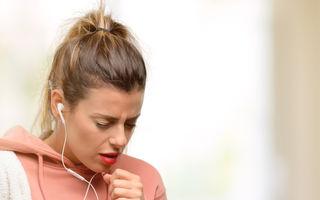 Astmul și tusea induse de exerciții fizice