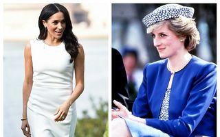 Pentru Prințesa Diana: Gestul pe care Meghan Markle l-a făcut în ziua în care a anunțat că e însărcinată