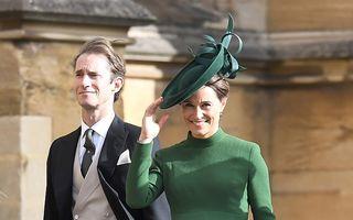 Pippa Middleton, sora ducesei de Cambridge, a născut un băiețel