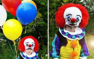 Ce face o mamă pentru copiii ei: costume croşetate de Halloween