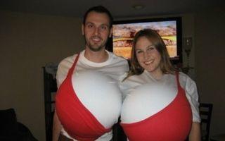 Cuplurile care știu să se distreze de Halloween. 20 cele mai amuzante costume