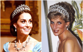 Kate Middleton a purtat tiara favorită a Prințesei Diana