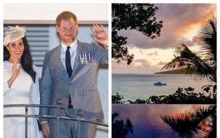 Colț de Rai: Insula din Fiji pe care Meghan Markle și Harry au petrecut singuri o noapte