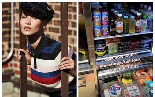 Dietă de model: Ce are Bella Hadid în frigider