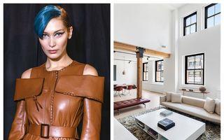 Bella Hadid stă cu chirie într-un apartament de lux din New York. Cât plătește vedeta în fiecare lună