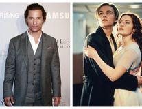 """Matthew McConaughey și-a dorit cu disperare să joace în """"Titanic"""": DiCaprio i-a luat rolul"""