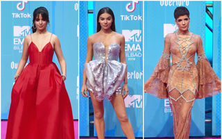 Ținutele purtate de vedete la Gala MTV Europe Music Awards 2018