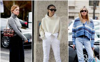 Cum să porți puloverul cu blugi - 6 idei