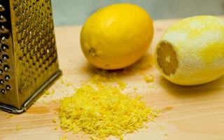12 utilizări ingenioase pentru coaja de lămâie