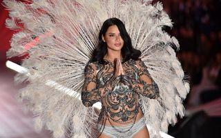 """S-a retras un """"îngeraș"""": Adriana Lima și-a luat adio de la Victoria's Secret cu o apariție memorabilă"""