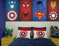 Supereroii sunt la putere! 20 de idei de decor pentru camera copilului