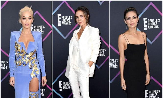 Ținutele purtate de vedete la People's Choice Awards 2018