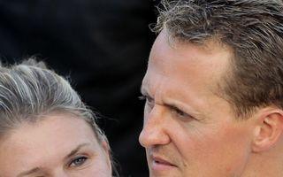 """Soția lui Michael Schumacher, într-un mesaj emoționant: """"E un luptător și nu se dă bătut"""""""