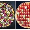 Fantezie în bucătărie: Plăcinta americană cu geometrie