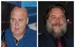 """Russell Crowe, schimbare totală: """"Gladiatorul"""" e de nerecunoscut"""
