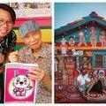 Cum și-a salvat un bătrân de 96 de ani satul care urma să fie demolat: A pictat casele în culorile curcubeului