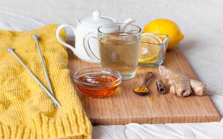 Un antibiotic natural puternic - miere cu turmeric