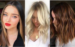 7 culori de păr care se poartă în 2019