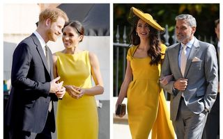Prințul Harry și Meghan Markle au ales nașii copilului: George Clooney și soția sa