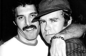 Freddie Mercury, Elton John